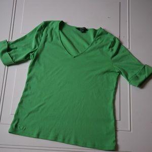 Ralph Lauren Lauren short Sleeves Jade Green